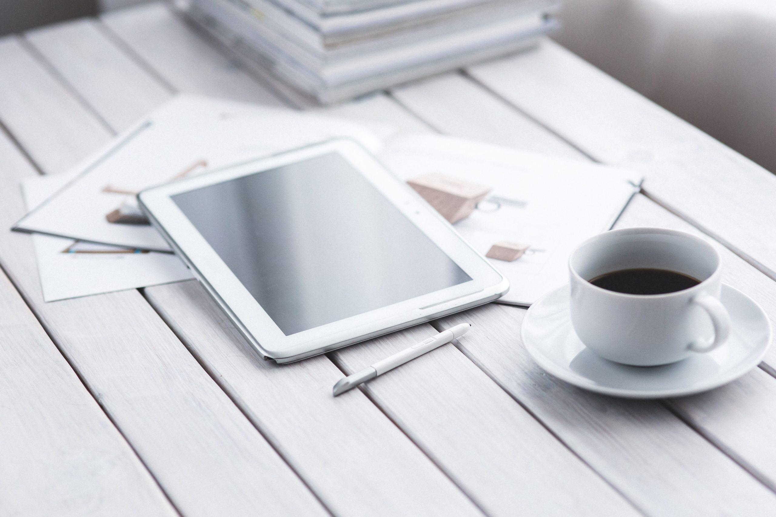tablet café